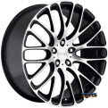 MRR Design - HR-6 - black flat w/ machined