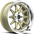 R358 - Gold w/ Machined