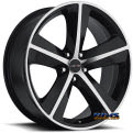 Sport Concepts 859 - black flat w/ machined