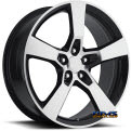 Sport Concepts 860 - black flat w/ machined