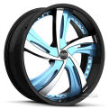 Fantasy S835 - Custom (5-lug only) - black gloss w/ blue