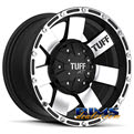 Tuff A.T Wheels - T02 - black flat w/ machined