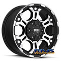 Tuff A.T Wheels - T03 - black flat w/ machined