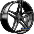 XO LUXURY WHEELS - CARACAS - black flat