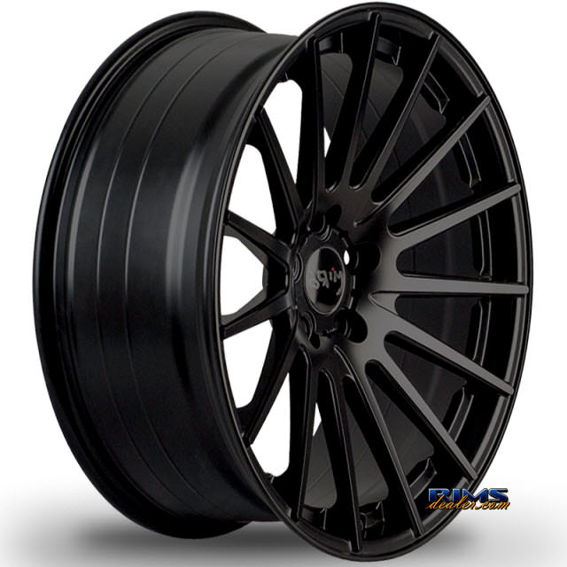 Pictures for Miro Wheels TYPE 110 black flat