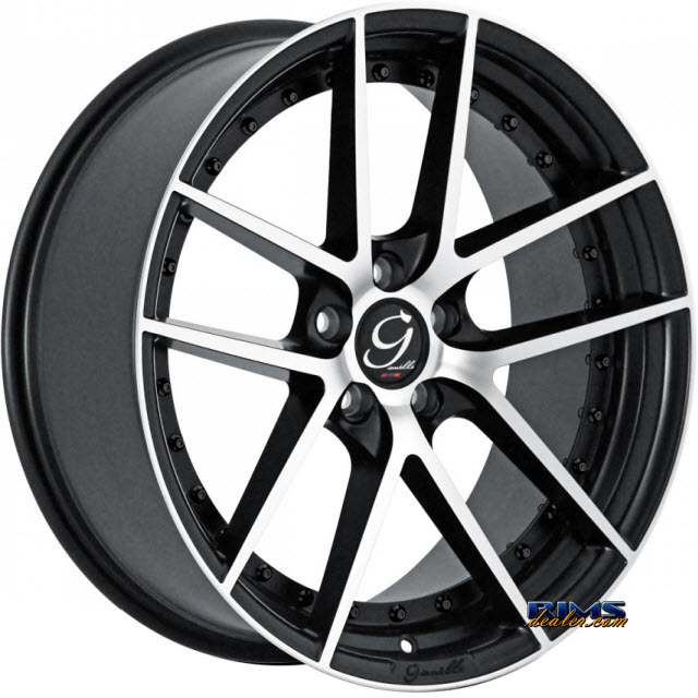 Pictures for GIANELLE Wheels MONACO machined w/ black