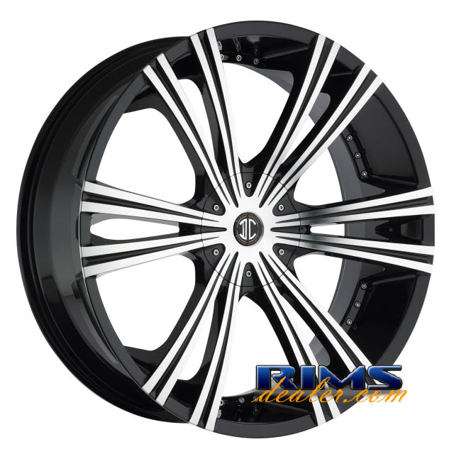 Pictures for 2Crave Rims No.12 machined w/ black
