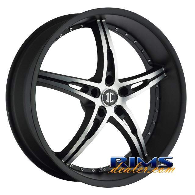Pictures for 2Crave Rims No.14 black flat w/ machined