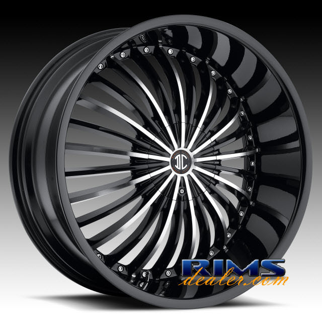 Pictures for 2Crave Rims No.19 machined w/ black