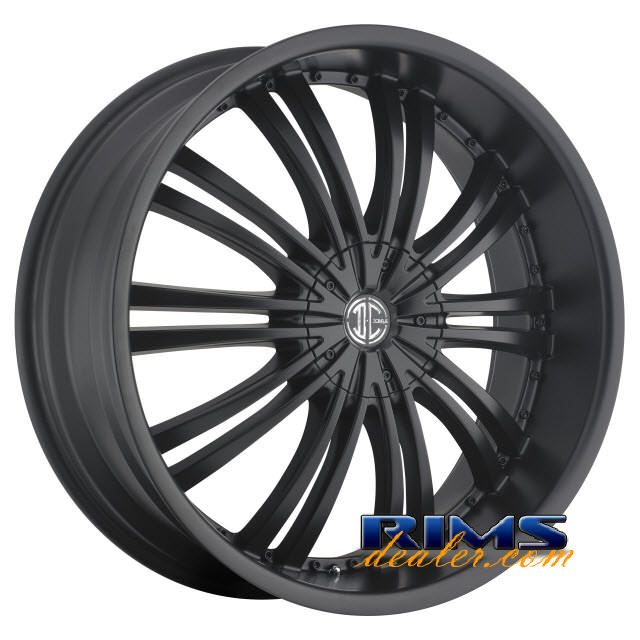 Pictures for 2Crave Rims No.1 Black Flat
