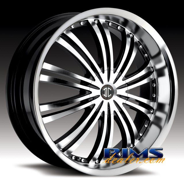 Pictures for 2Crave Rims No.1 machined w/ black machined lip