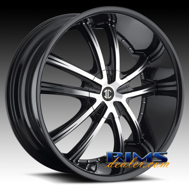Pictures for 2Crave Rims No.21 machined w/ black