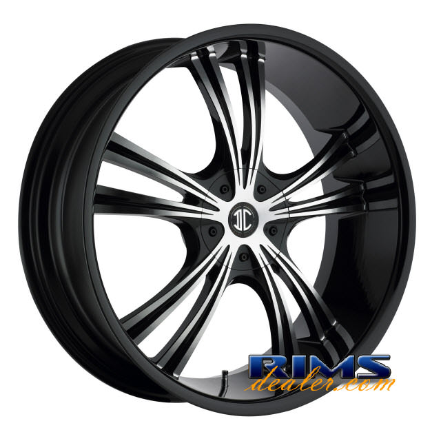 Pictures for 2Crave Rims No.2 machined w/ black