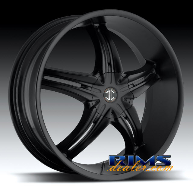 Pictures for 2Crave Rims No.5 black flat