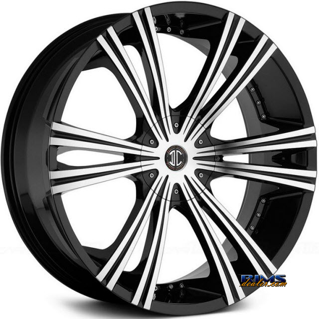Pictures for 2Crave Rims No.28 Machined w/ Black