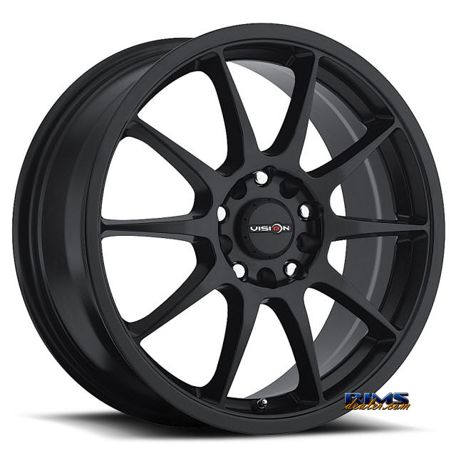 Pictures for Vision Wheel Venom 425 black flat