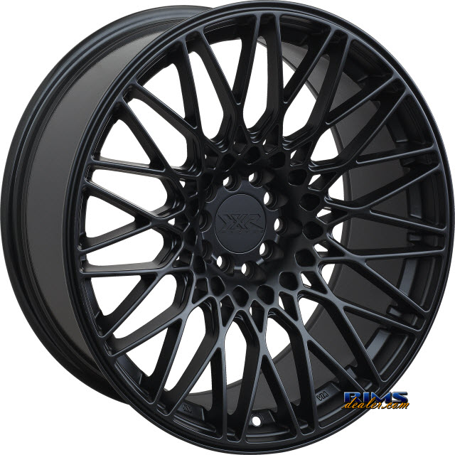 Pictures for XXR 553 black flat