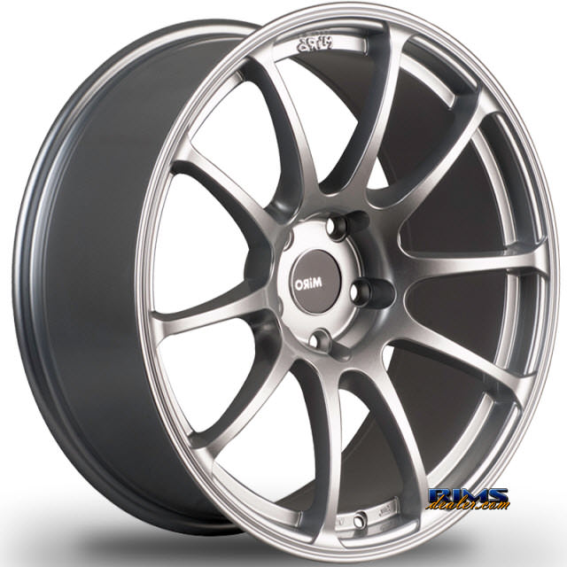 Pictures for Miro Wheels TYPE 563 silver flat