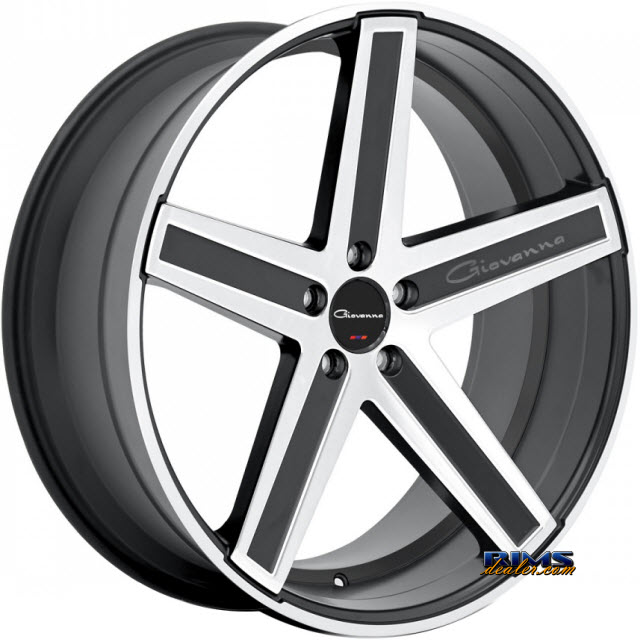 Pictures for GIOVANNA Wheels DRAMUNO-5 machined w/ black