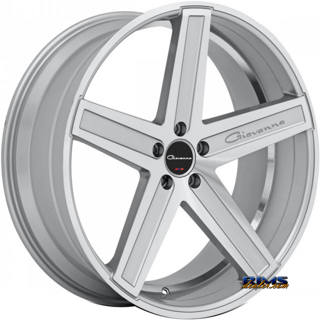 Pictures for GIOVANNA Wheels DRAMUNO-5 machined w/ silver