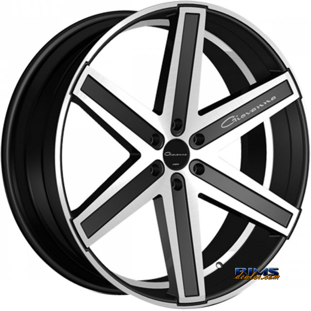 Pictures for GIOVANNA Wheels DRAMUNO-6 machined w/ black