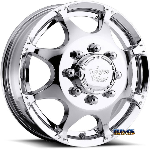 Pictures for Vision Wheel Crazy Eightz 715 chrome