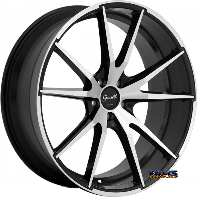 Pictures for GIANELLE Wheels DAVALU machined w/ black