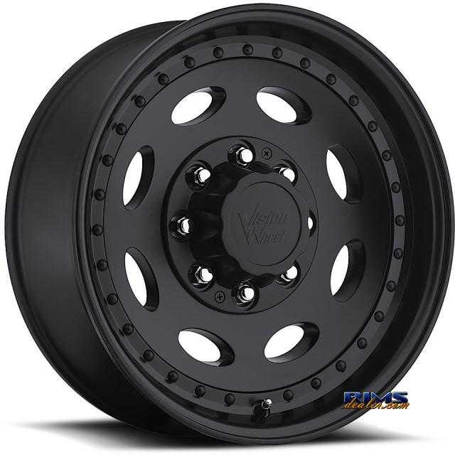 Pictures for Vision Wheel 81 Hauler Single black flat