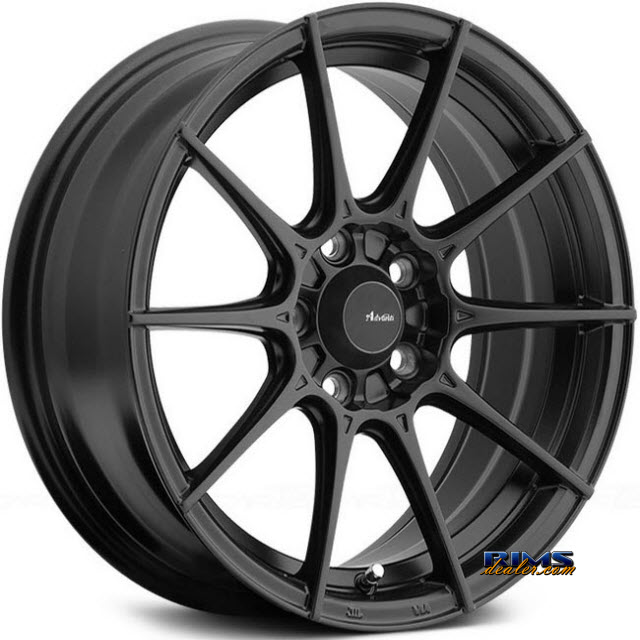 Pictures for Advanti Racing 79B Storm 1 Black Flat