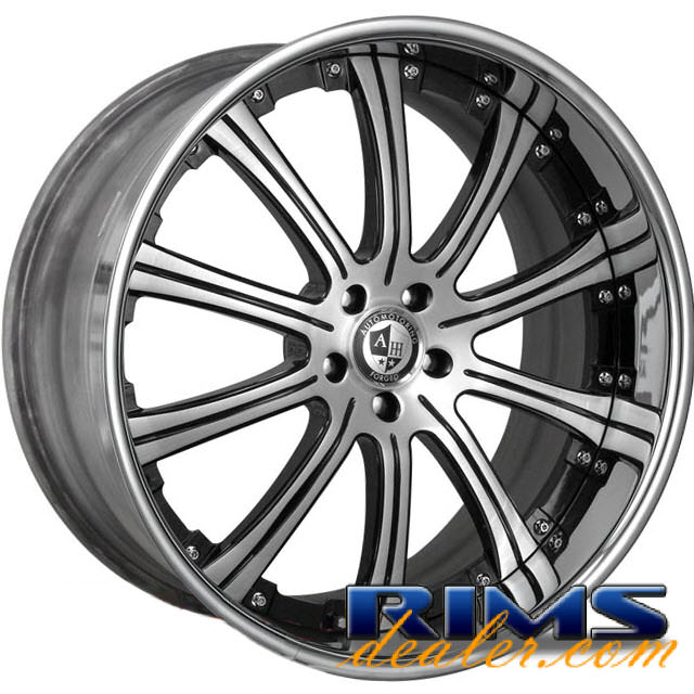 Pictures for AM FORGED Majestic 2.0 machined w/ black
