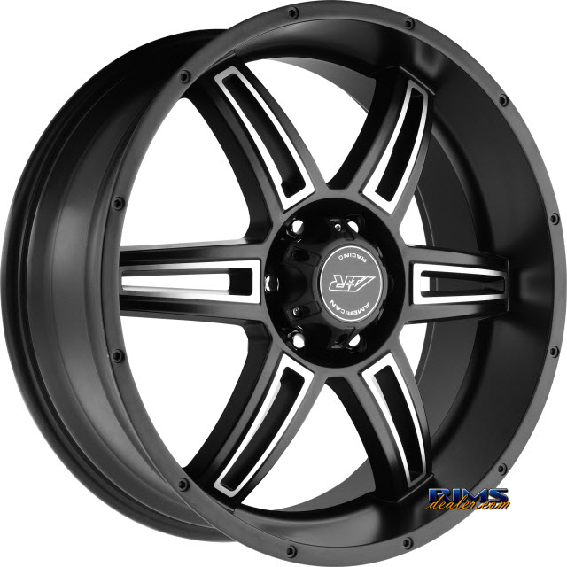 Pictures for AMERICAN RACING AR890 Satin Black