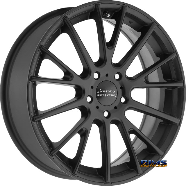 Pictures for AMERICAN RACING AR904 SATIN BLACK