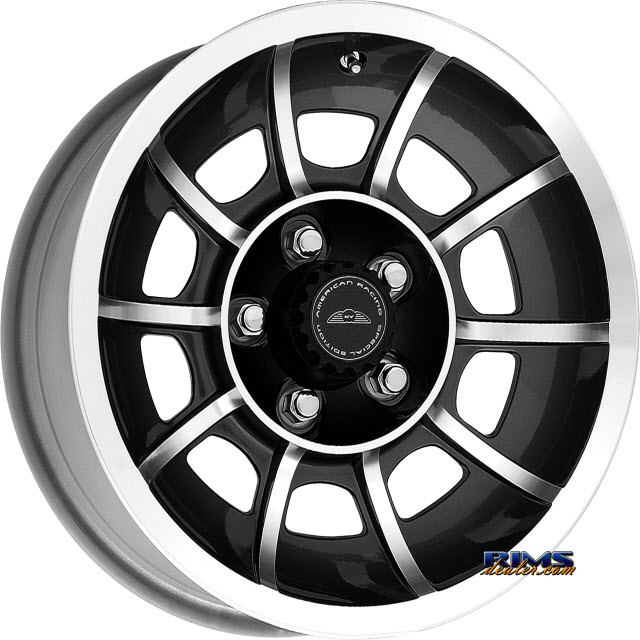 Pictures for AMERICAN RACING VN47 Vector Satin Black