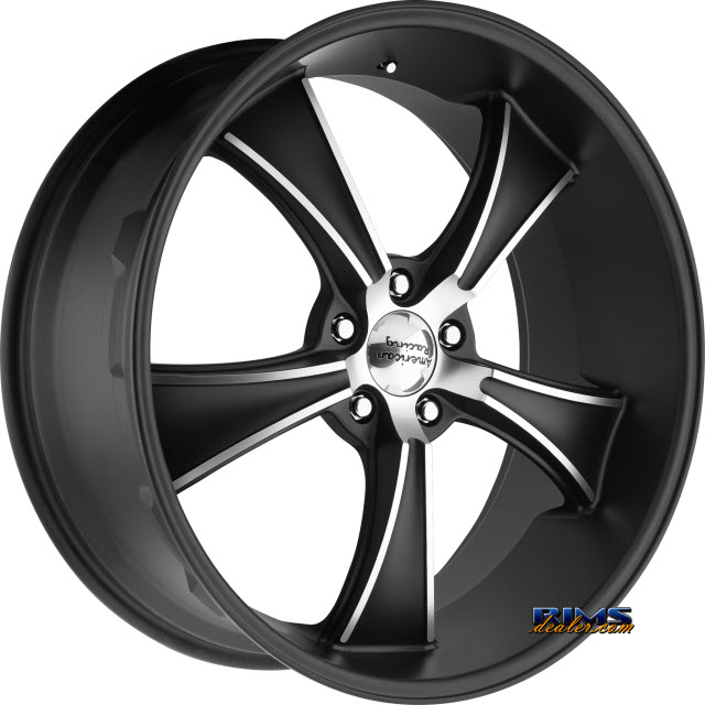 Pictures for AMERICAN RACING VN805 Blvd Satin Black