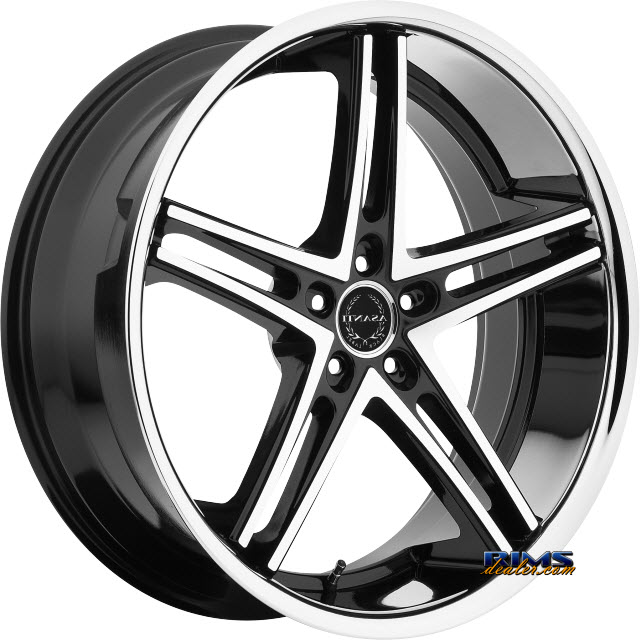 Pictures for Asanti Wheels ABL-7 Machined w/ Silver Chrome Lip