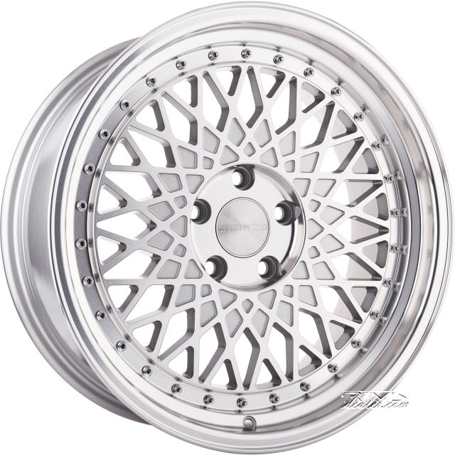 Pictures for Avant Garde Wheels M220 Machined W/ Silver