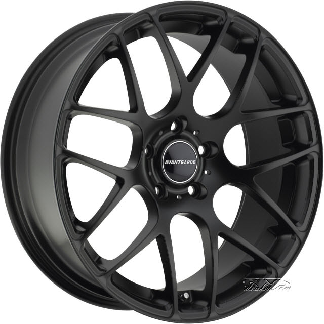 Pictures for Avant Garde Wheels M310 Black Flat