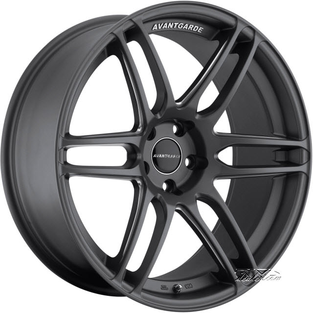 Pictures for Avant Garde Wheels M368 Gunmetal Flat