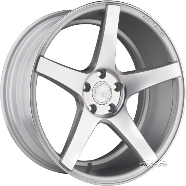 Pictures for Avant Garde Wheels M550 Silver Flat