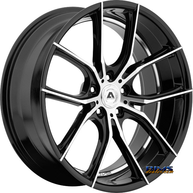 Pictures for Adventus Wheels AVX-6 Black Gloss w/ Machined