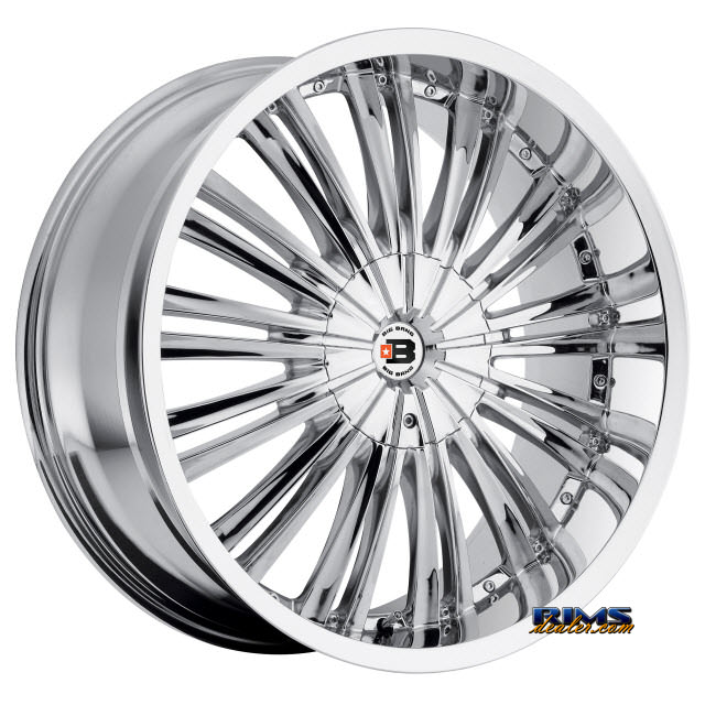 Pictures for BigBang Wheels BB2 chrome