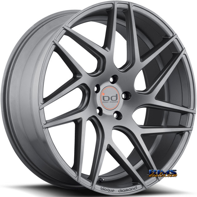 Pictures for Blaque Diamond BD-3 Gunmetal Flat