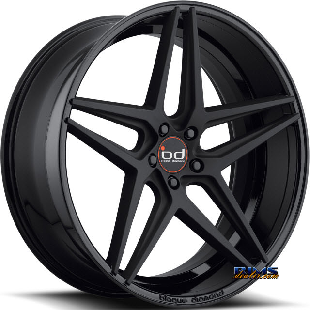 Pictures for Blaque Diamond BD-8 Black Gloss