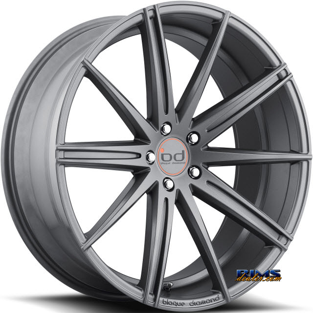 Pictures for Blaque Diamond BD-9 Gunmetal Flat