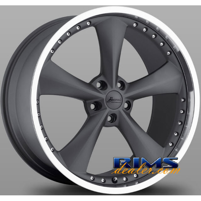 Pictures for Bravado Performance Americana II gunmetal flat