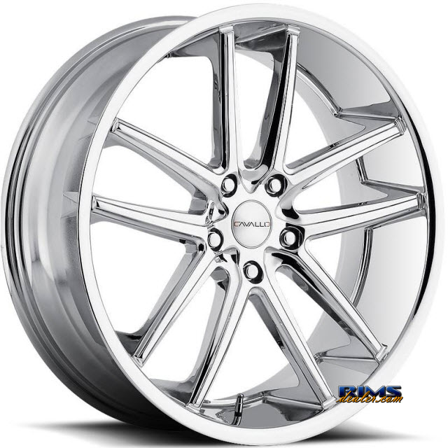 Pictures for Cavallo Wheels CLV-4 chrome
