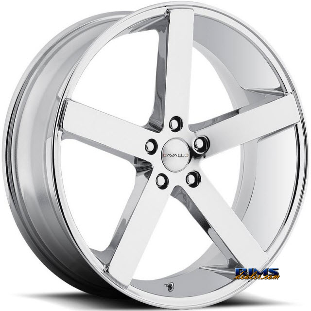 Pictures for Cavallo Wheels CLV-5 chrome