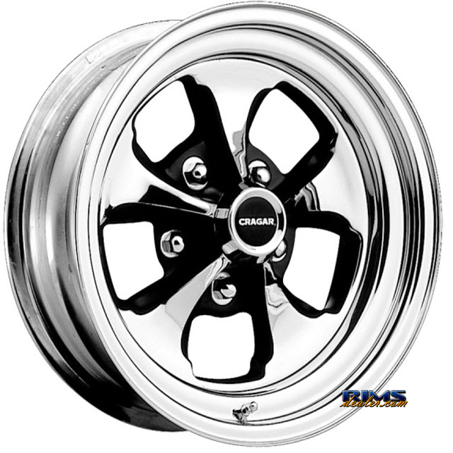 cragar 32 keystone klassic rims and tires packages cragar 32 66 Mustang Factory Colors color chrome w black available in 5 holes bolt patterns