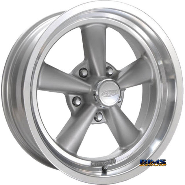 Pictures for CRAGAR 610G S/S Super Sport gunmetal flat