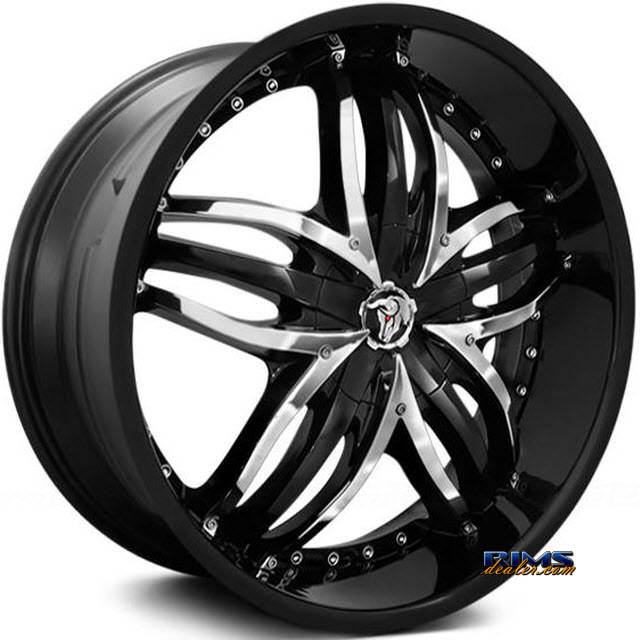 Pictures for Diablo Wheels ANGEL Black Gloss
